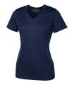 LADIES TECH - SHORT SLEEVE V-NECK TEE