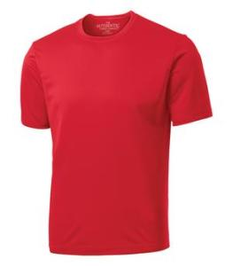ADULT TECH - SHORT SLEEVE TEE - Red